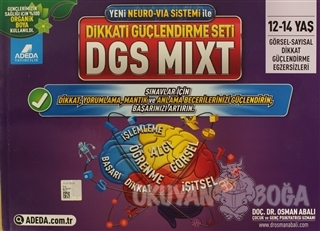 Adeda - DGS MIXT Dikkati Güçlendirme Seti 12-14 Yaş - Osman Abalı - Ad