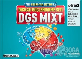 Adeda - DGS MIXT Dikkati Güçlendirme Seti 4-5 Yaş - Osman Abalı - Aded