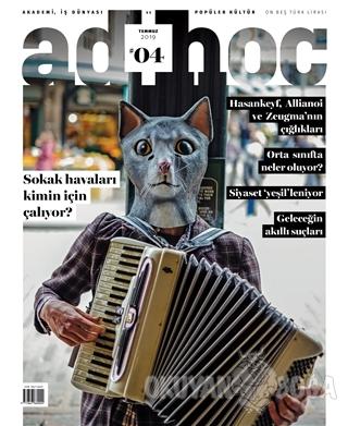 AdHoc Akademi İş Dünyası ve Popüler Kültür Dergisi Temmuz 2019