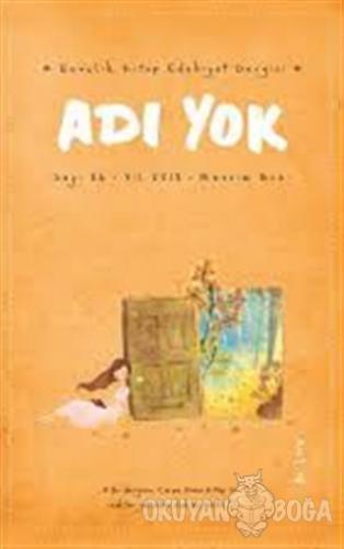 Adı Yok Gençlik Kitap Edebiyat Dergisi Sayı: 86 Güz 2018