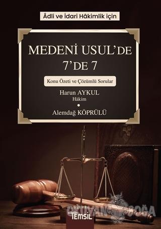 Adli ve İdari Hakimlik İçin Medeni Usul'de 7'de 7
