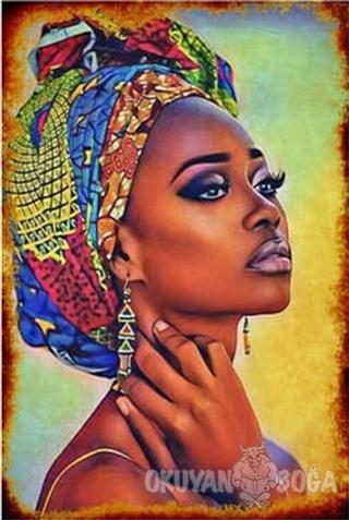 Afrikalı Kadın Poster