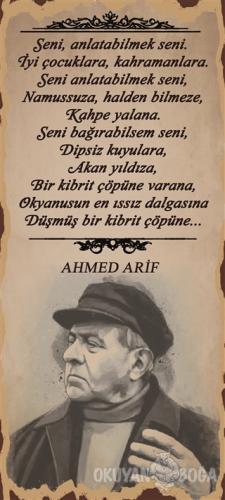Ahmed Arif Seni Anla Poster