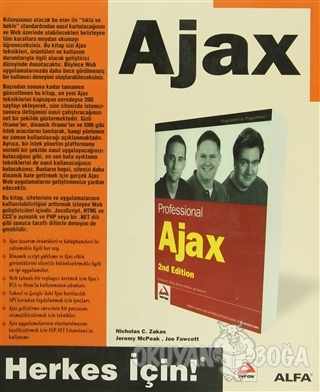 AjaX - Nicholas C. Zakas - Alfa Yayınları