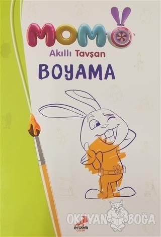 Akıllı Tavşan Momo Boyama - Kolektif - Erdem Çocuk