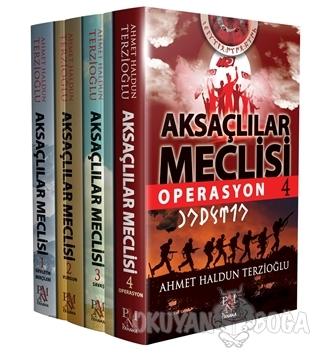 Aksaçlılar Meclisi Seti (4 Kitap Takım) - Ahmet Haldun Terzioğlu - Pan