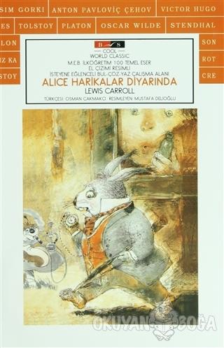 Alice Harikalar Diyarında (Cool) - Lewis Carroll - Bordo Siyah Yayınla