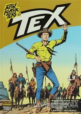 Altın Klasik Tex Sayı: 32 Mefisto'nun Oğlu / Dört Tılsım / Kara Büyü /