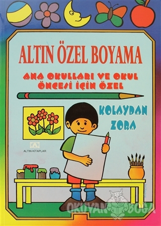 Altın Özel Boyama - Ural Akyüz - Altın Kitaplar
