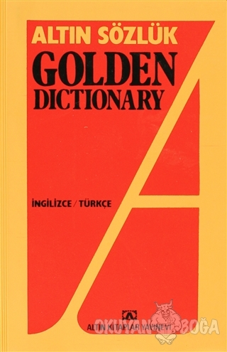 Altın Sözlük Golden Dictionary İngilizce - Türkçe - Necmettin Arıkan -