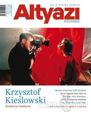 Altyazı Dergisi Sayı: 163 / Temmuz-Ağustos 2016