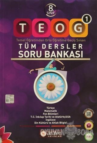 Anafen 8. Sınıf TEOG 1 - Tüm Dersler Soru Bankası - Kolektif - AnaFen