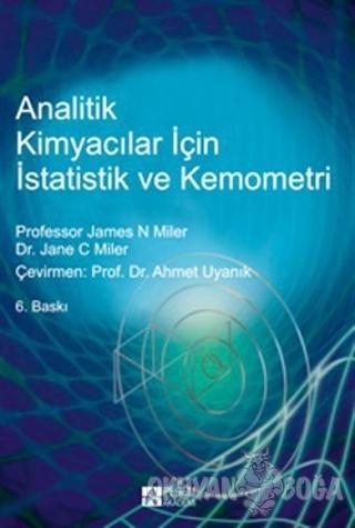 Analitik Kimyacılar için İstatistik ve Kemometri - James N. Miler - Pe