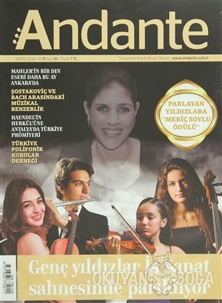 Andante Müzik Dergisi Sayı: 91 Mayıs 2014 - Kolektif - Andante Dergisi