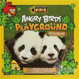 Angry Birds Playground Hayvanlar (Ciltli) - Kolektif - Beta Kids