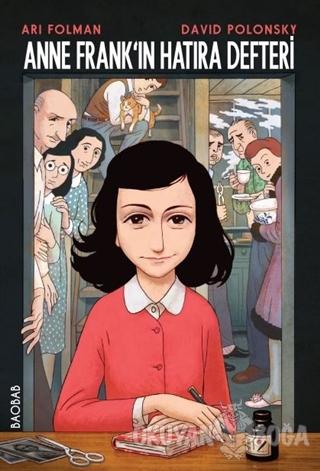 Anne Frank'ın Hatıra Defteri (Grafik Uyarlaması) - Ari Folman - Baobab