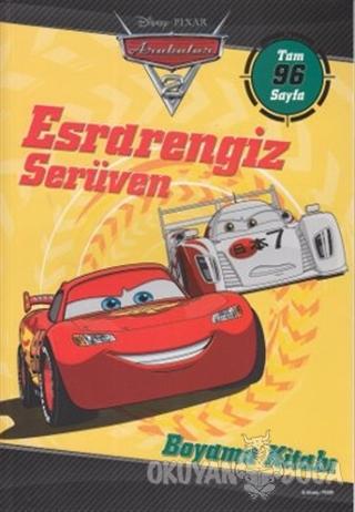 Arabalar 2 - Esrarengiz Serüven Boyama Kitabı - Kolektif - Doğan Egmon