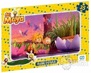Arı Maya - Frame Puzzle 2 - Pembe (35 Parça)