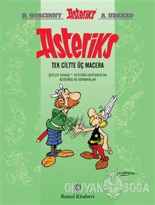 Asteriks (Tek Ciltte Üç Macera) (Ciltli)