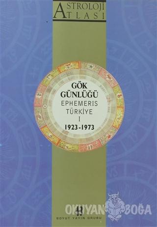 Astroloji Atlası Gök Günlüğü Ephemeris Türkiye 1 1923 - 1973