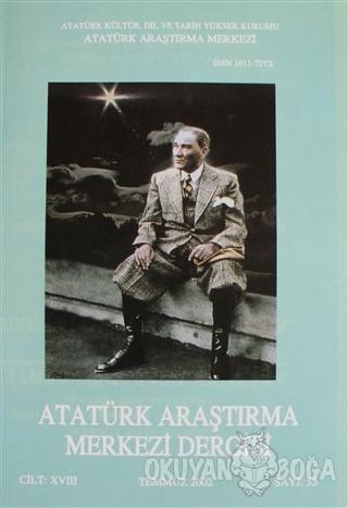 Atatürk Araştırma Merkezi Dergisi Sayı: 53 Temmuz 2002 - Kolektif - At
