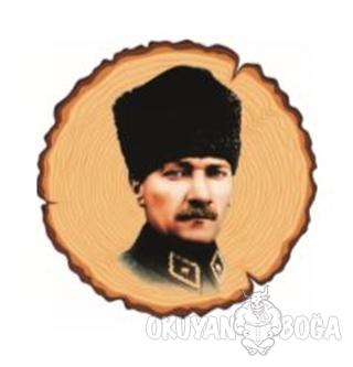 Atatürk Bardak Altlığı 5 - - Kirpi Poster