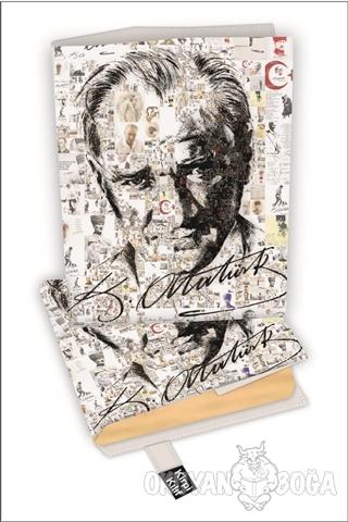 Atatürk İmza Kitap Kılıfı Kod - S-2919008 - - Kirpi Poster - Kitap Kıl