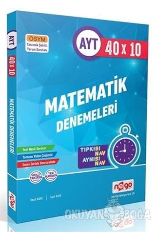 AYT 40x10 Matematik Denemeleri