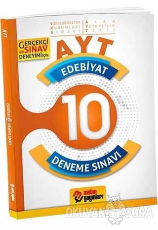 AYT Edebiyat 10 Deneme Sınavı - Kolektif - Metin Yayınları