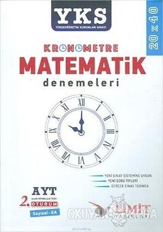 AYT Kronometre Matematik Denemeleri - Kolektif - Limit Yayınları