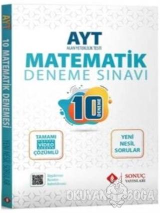 AYT Matematik 10 Deneme - Kolektif - Sonuç Yayınları