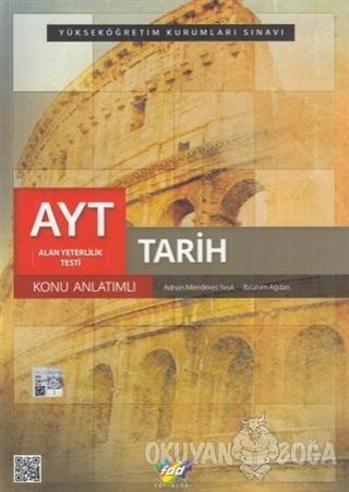 AYT Tarih Konu Anlatımlı - Adnan Menderes Yeşil - Fdd Yayınları