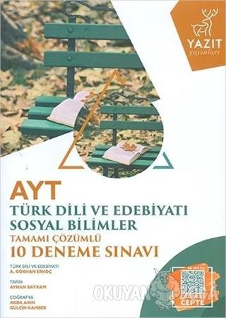 AYT Türk Dili ve Edebiyatı Sosyal Bilimler Tamamı Çözümlü 10 Deneme Sınavı