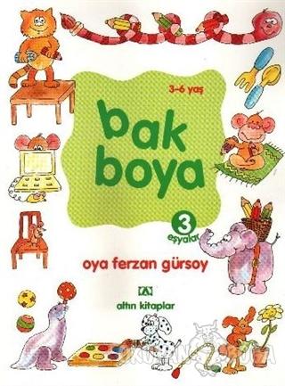 Bak Boya (4 Kitap Set) - Kolektif - Altın Kitaplar - Çocuk Kitapları