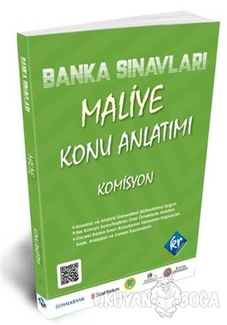 Banka Sınavları Maliye Konu Anlatımı - Kolektif - KR Akademi Yayınları