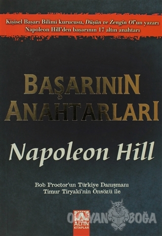 Başarının Anahtarları - Napoleon Hill - Altın Kitaplar
