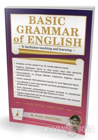 Basic Grammar of English - M. Fatih Adıgüzel - Pelikan Tıp Teknik Yayı