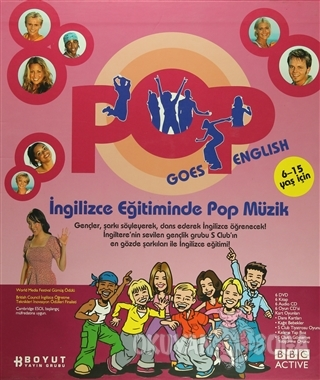 BBC Active Pop Goes English - Kolektif - Boyut Yayın Grubu
