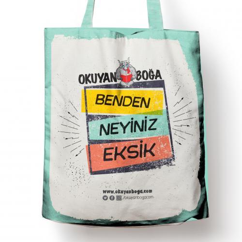 Okuyanboga.com Bez Çanta (Benden Neyiniz Eksik) - - OKB-Aksesuar