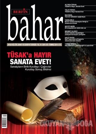Berfin Bahar Aylık Kültür, Sanat ve Edebiyat Dergisi Sayı : 197 - Kole