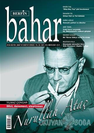 Berfin Bahar Aylık Kültür Sanat ve Edebiyat Dergisi Sayı: 279 Mayıs 20