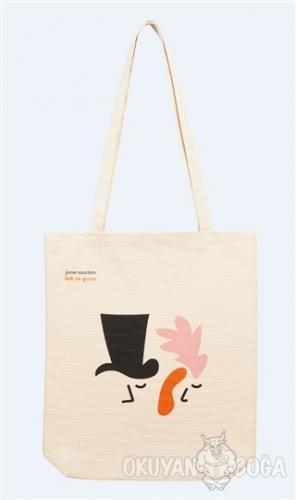 Bez Çanta (Kanvas) - Jane Austen / Aşk ve Gurur - - Can Dükkan