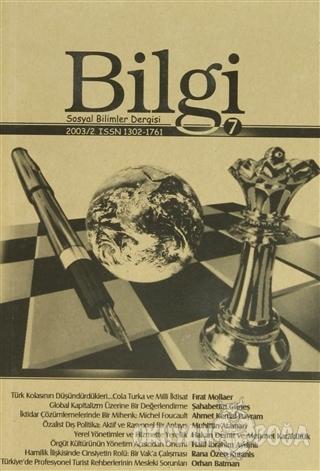 Bilgi Sosyal Bilimler Dergisi Sayı: 7 - Kolektif - Bilgi Sosyal Biliml