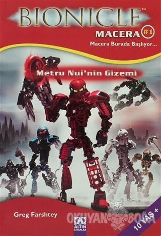 Bionicle Macera 1 Metru Nui'nin Gizemi - Greg Farshtey - Altın Kitapla