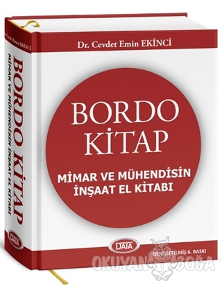 Bordo Kitap Mimar ve Mühendisin İnşaat El Kitabı (Ciltli)
