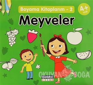 Boyama Kitaplarım - 2 Meyveler - Kolektif - Çamlıca Çocuk Yayınları
