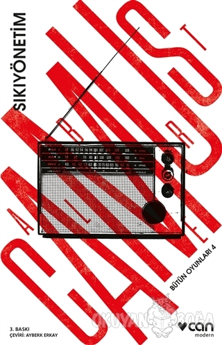 Bütün Oyunları - 4 : Sıkıyönetim - Albert Camus - Can Yayınları