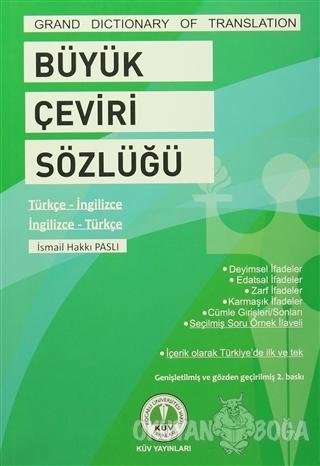 Büyük Çeviri Sözlüğü