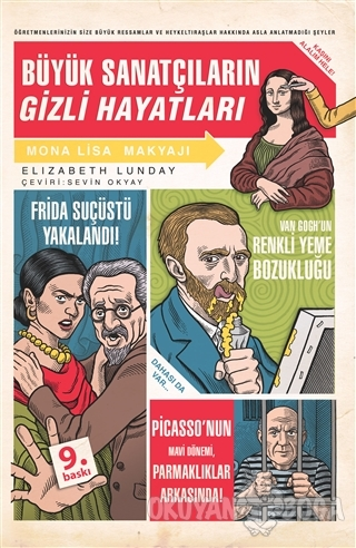Büyük Sanatçıların Gizli Hayatları - Elizabeth Lunday - Domingo Yayıne
