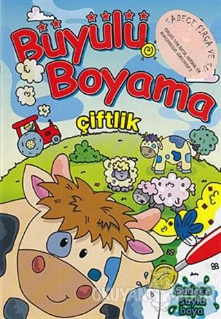 Büyülü Boyama - Çiftlik - Kolektif - Net Turistik Yayınları